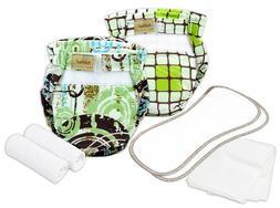 Kushies Organic Ultra-Lite Diaper Trial Pack - Infant