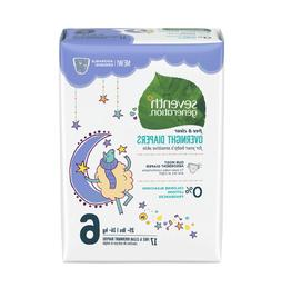 Seventh Generation Baby Free & Clear Overnight Diapers, Stag