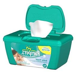 Pampers Baby Fresh Wipes Tub 72 Count, Touch of Vitamin E -