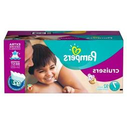 Pampers Cruisers Diapers Economy Plus Pack Size 7  - New!!