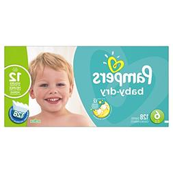 Pampers Baby Dry Size 6 Diapers Economy Plus Pack - 128 Coun