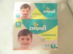 Pampers Size 7 Swaddlers Target Up and Up Size 7 Diapers 126