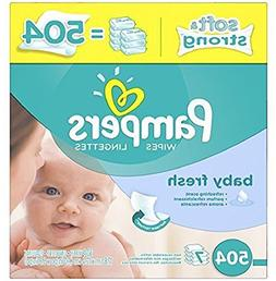 Pampers Softcare Baby Fresh Wipes 7x box 504 Count Pack of 1