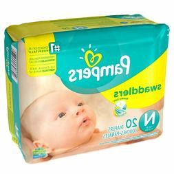 Pampers Swaddlers New Baby 20 Count Diapers