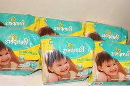 PAMPERS SWADDLERS SZ. 5 DIAPERS 20 DIAPERS 27+ LBS