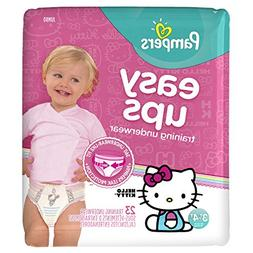 Pampers Girls Easy Ups Training Pants Size 3T/4T Jumbo Pack