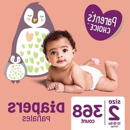 Parent's Choice Diapers, Size 2, 368 Diapers  Great Deal!