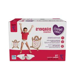 Parent's Choice Disposable Diapers Size 7  *Free 2 day Ship