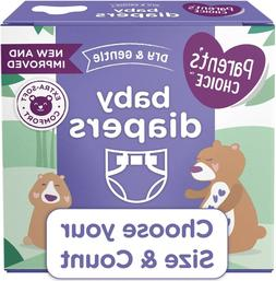 Parent's Choice Disposable Diapers Dry And Gentle Choose Siz