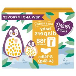 Parent's Choice Dry and Gentle Baby Diapers Size Newborn, 1,