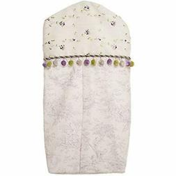 Penelope Diaper Stackers & Caddies Stacker, Lavender/Mint/Wh