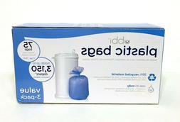 Ubbi Plastic Bags,  75 - Pack, 3 - Count