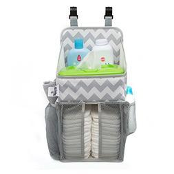 Playard Diaper Caddy and Nursery Organizer for Newborn Baby