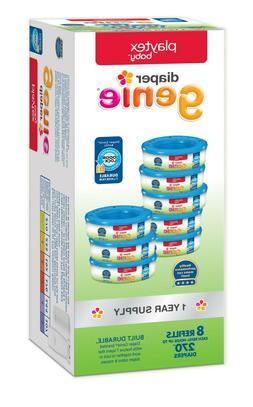 Playtex Baby Diaper Genie Diaper Disposal Pail System Refill