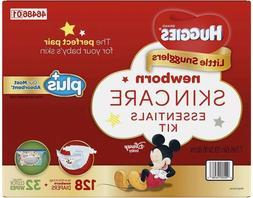 Huggies Plus Diapers Newborn Skin Care Essentials Kit with W