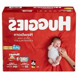 Huggies Plus Diapers Newborn Skin Care Essentials Kit