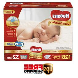 Huggies Plus Diapers Newborn Skin Care Essentials Kit  - Fre