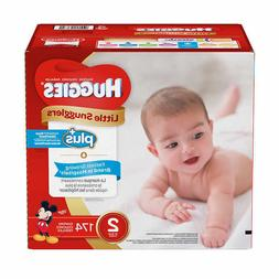 Huggies Plus Diapers Size 2: 12-18lbs, 174ct - Free Shipping