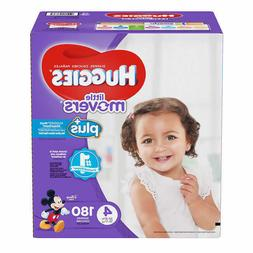 Huggies Plus Diapers Size 4: 22-37lbs, 180ct - Free Shipping