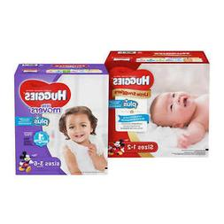 Huggies Plus Diapers Sizes 1 - 6 ** FREE SHIPPING **