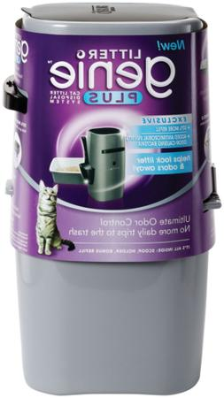 Litter Genie Plus Pail, Ultimate Cat Litter Disposal System,