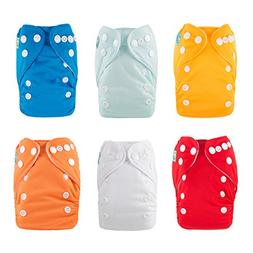 ALVABABY Newborn Cloth Diapers Pocket for Less Than 12pounds