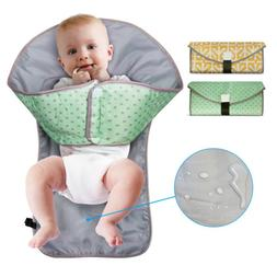 Portable Baby Diaper Changing Pad 3in1 Cover Mat Waterproof