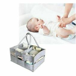Portable Baby Infant Caddy Storage Bin Diaper Nappy Organize