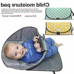 Portable Clean Hands Changing Pad 3-in-1 Diaper Clutch Chang