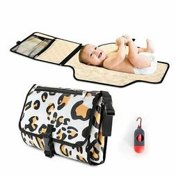 Portable Diaper Changing Pad Waterproof Cushion and Pockets