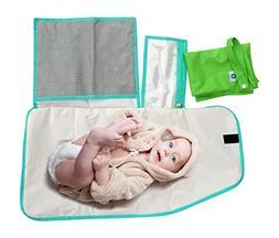 Pandaroos Portable Padded Waterproof Diaper Changing Mat/Pad