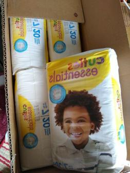 Cuties Premium Diapers, Size 7,  Case of 80 Brand New