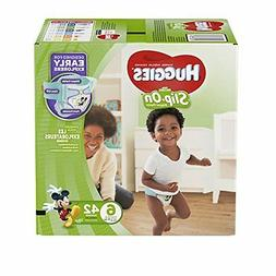 Pull Up Diapers HUGGIES Little Movers Slip On Pants Size 6 E