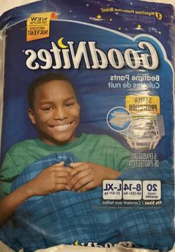 PULL-UPS GOODNITES FOR BOYS TRAINING PANTS/DIAPERS SZ L-XL