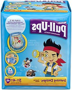 HUGGIES Pull-Ups Boys' Training Pants with Learning Designs,