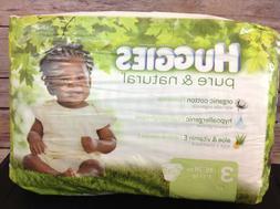 Huggies Pure & Natural Diapers Size 3 - 16-28 lbx Jumbo pack