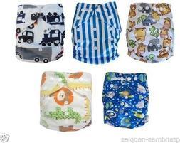 Reusable modern Baby Cloth Nappies Diapers Adjustable bulk n