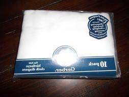 Gerber Reusable Prefold Birdseye Cloth Diapers with Absorben