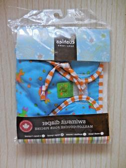 Kushies Baby Reusable Swim Diaper - Large - Boy - 25 - 40 Po