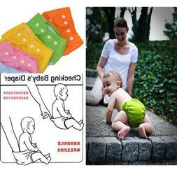Reusable Washable Adjustable Waterproof Cloth Baby Nappy Poc