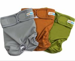 Reusable Washable Dog Diapers  - Dog Wraps for both Male and
