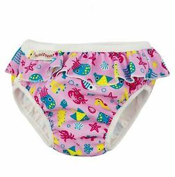 ImseVimse Ruffle Snap Reusable Swim Diaper for Baby and Todd