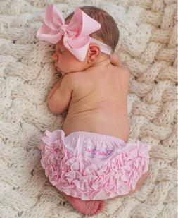 """Ruffled Butts Diaper Cover """"You Pick a Color & Size""""  Newbor"""