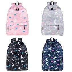 School Bag Backpack Large Capacity Unicorn Baby Travel Bookb