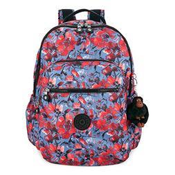 Kipling Seoul GO Large Laptop Backpack,  Festive Floral, One