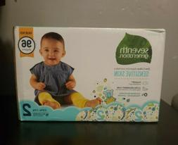 Seventh Generation Free and Clear Size 2 Baby Disposable Dia