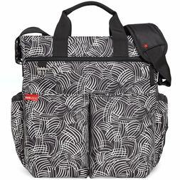 Skip Hop Skip Hop Messenger Diaper Bag With Matching Changin