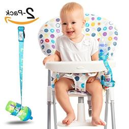 Heaven's Bliss Sippy Cup Holder Strap Leash Tether