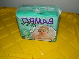 Bambo Nature Size 2 Diapers 30 Count