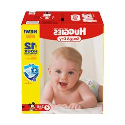 Huggies Snug & Dry Baby Diapers Disposable Diapers Size 2